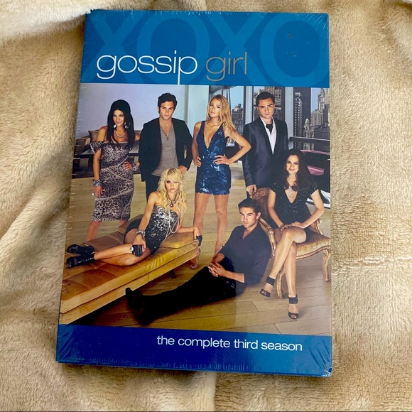 GOSSIP GIRL The Complete Third Season Three DVD